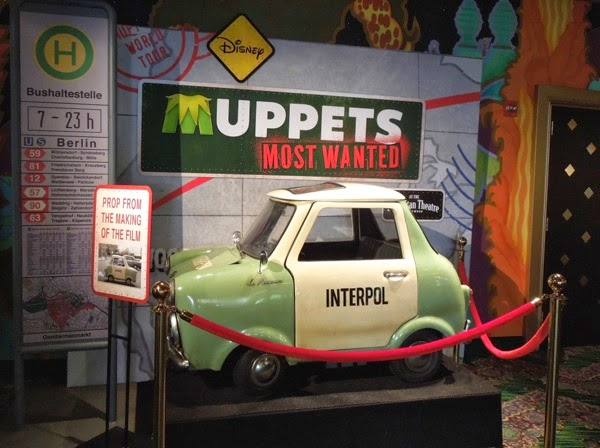 Le Maximum Interpol car prop Muppets Most Wanted