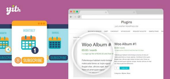 YITH WooCommerce Subscription Premium v1.5.3