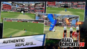 Real Cricket 18 MOD APK Unlimited Money Unlocked 2018
