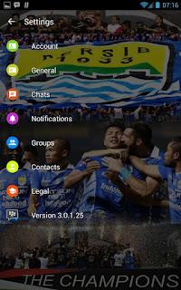 BBM MOD Persib Bandung Transparan v3.0.1.25 APK