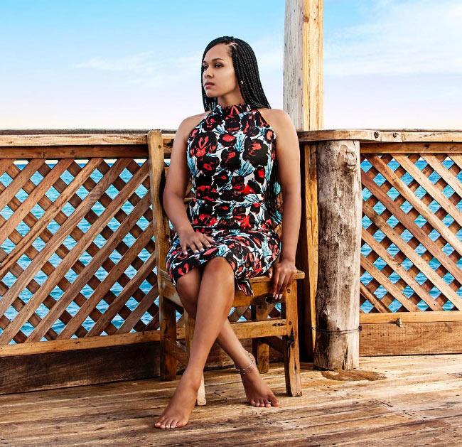 Tania Omotayo stuns as she promotes her fashion line