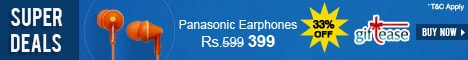 GiftEase-Panasonic earphone