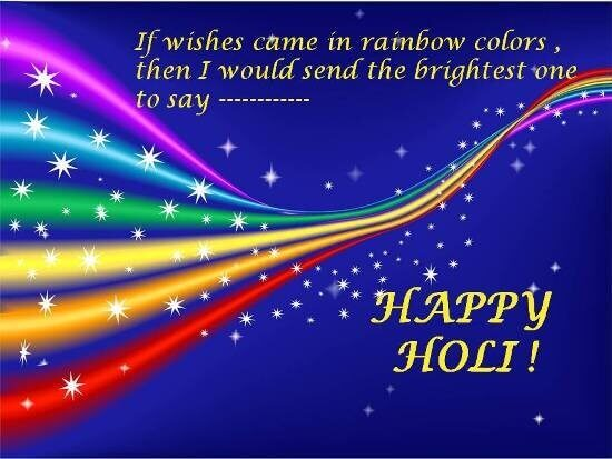 Happy Holi Graphic Ecards for Facebook