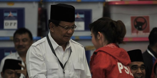 PSI Khawatir Dengan 'The Prabowo Show'