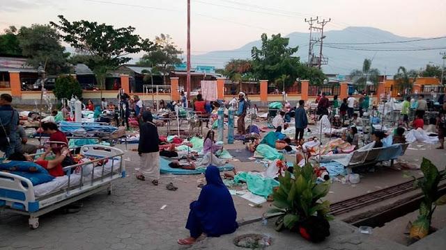 BNPB: 48 Orang Meninggal Akibat Gempa Donggala Sulteng