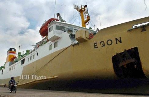 Informasi Jadwal Kapal Pelni KM Egon Januari Februari 2015