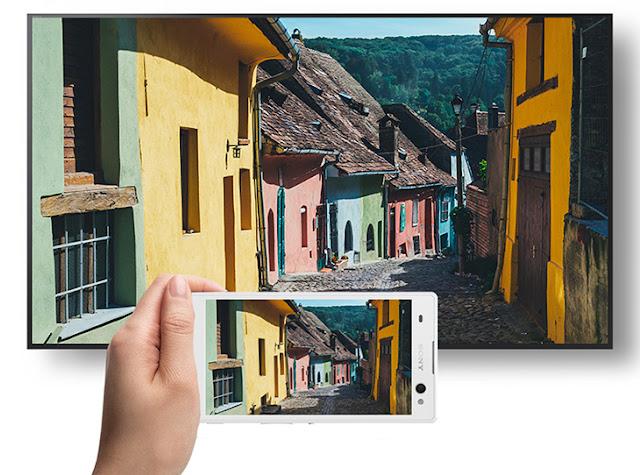 Tính năng phản chiếu hình ảnh từ điện thoại lên tivi