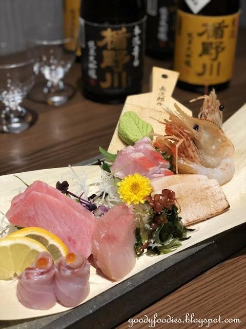 Sashimi, Fincch Sushi Room