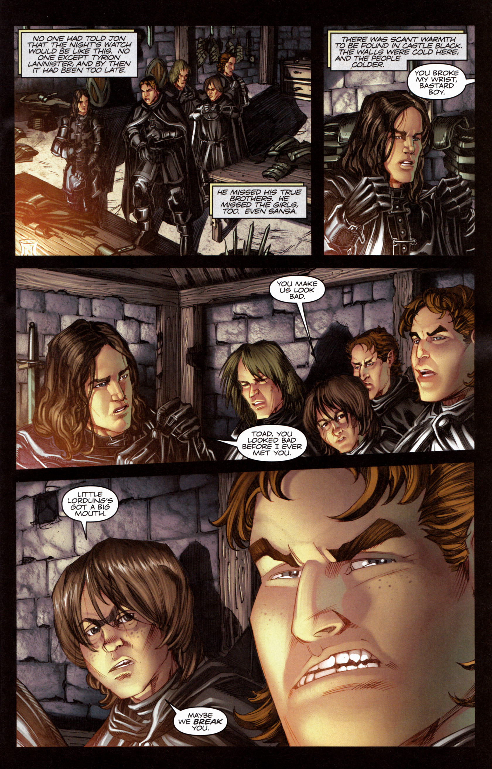 Read online A Game Of Thrones comic -  Issue #6 - 5
