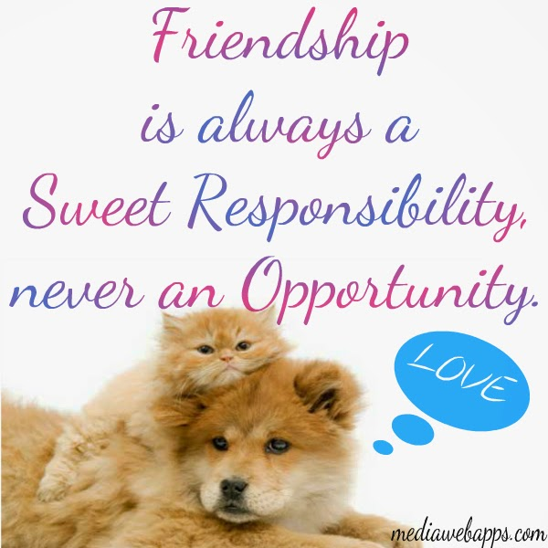 Quotes For Sweet Friend: Tea Beyond: Monday Quotes Friendship