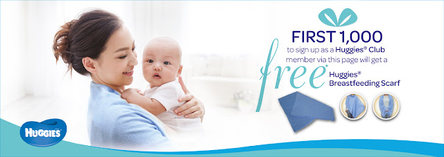 Free Huggies Breastfeeding Scarf Giveaway