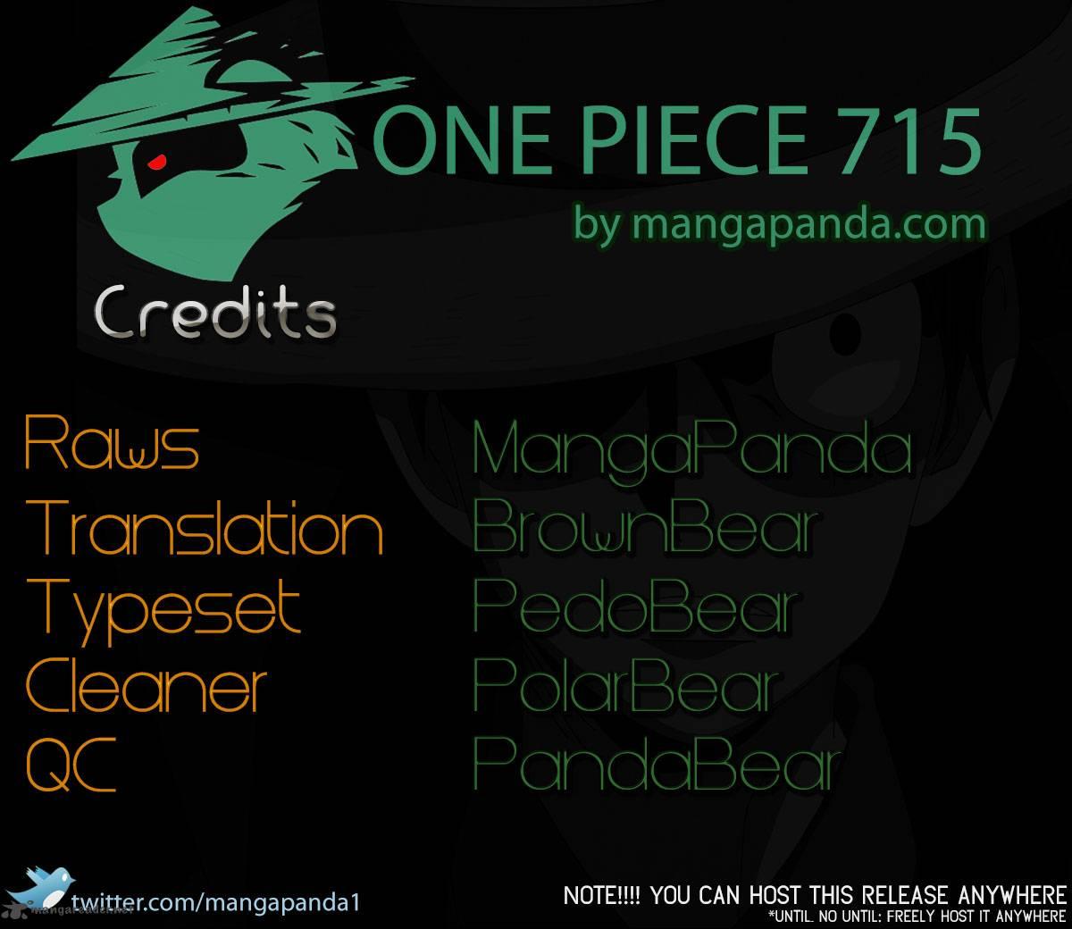 One Piece Ch 715: Violent Fight In Block C