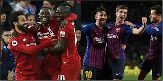 موعد مباراة برشلونة وليفربول اليوم الثلاثاء 07-05-2019 دوري أبطال أوروبا