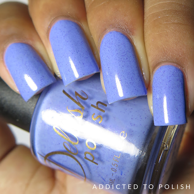 Delush Polish Tea Amoretto High and Mightea swatches