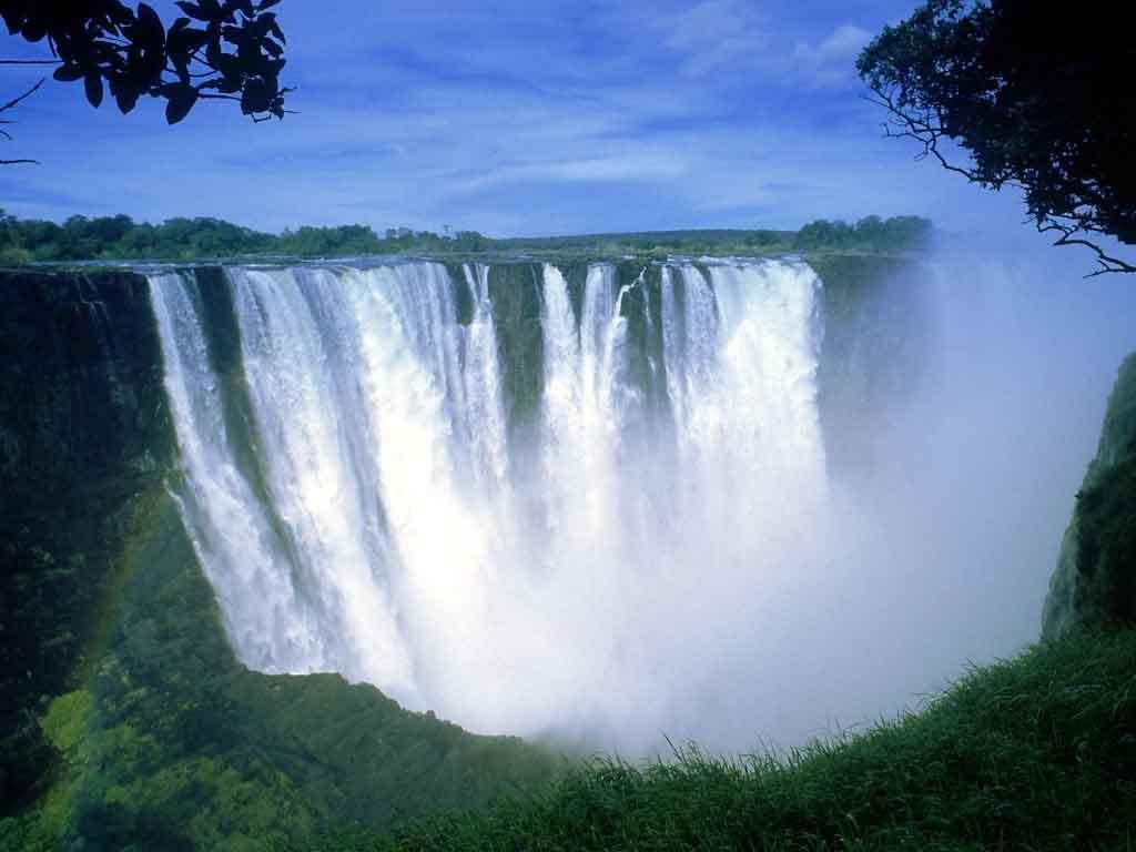 Cataratas Victoria Entre Zâmbia e Zimbabwe