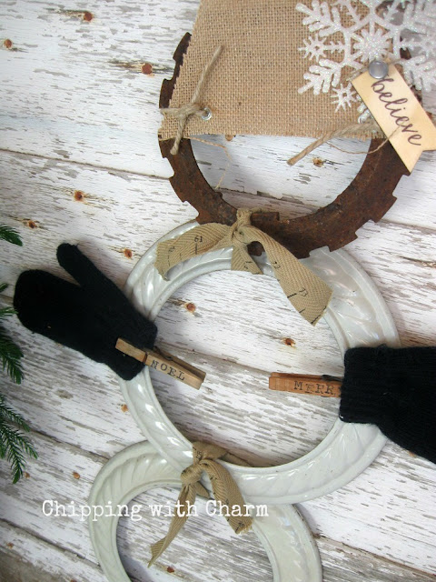 Chipping with Charm: Rusty the Junky Snowman...www.chippingwithcharm.blogspot.com