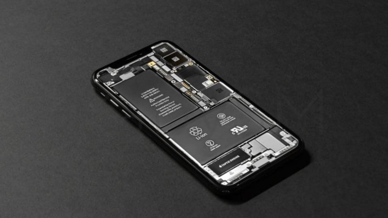 Battery inside mobile