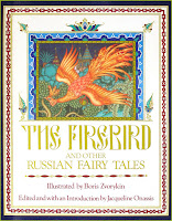 The Firebird and Other Russian Fairy Tales Boris Zvorykin RedCapeTales