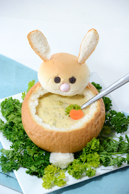 Bunny Bread Bowl
