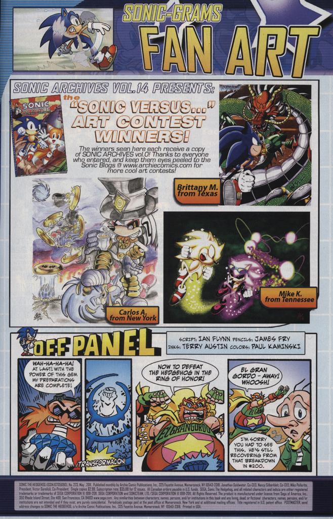 Read online Sonic The Hedgehog comic -  Issue #223 - 33