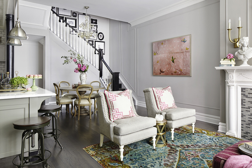 The West Village townhouse designed by Rob Stuart
