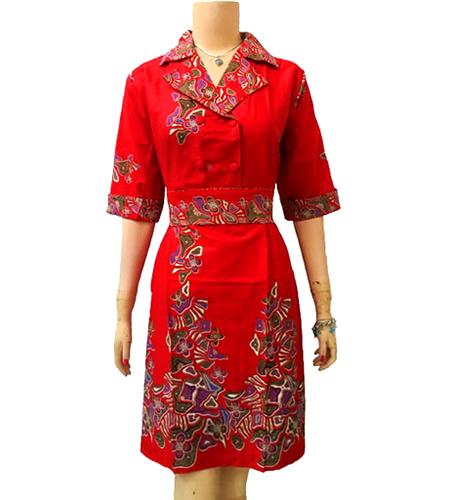 Model Baju Batik Modern Dress: Dress Batik Modern Dalam Model Baju Batik Wanita Terbaru