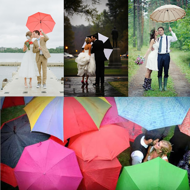 Bride With A Twist: It's Like Rain On Your Wedding Day