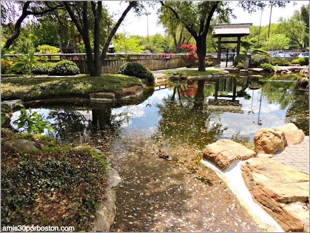 Salida del Jardín Japonés de Fort Worth