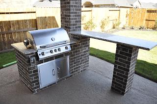 Custom Outdoor Kitchen DFW 3