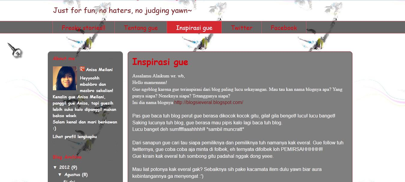 Blog Si Everal 2012
