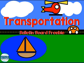Starting a transportation unit in kindergarten or preschool can be daunting because there are so many learning opportunities and ideas out there! This blog post has free bulletin boards ideas, ideas for writing, science, and reading activities. Students will study air, land, and water travel through literature, inquiry, and exploration. Take your transportation unit to a whole new level or extend an existing community helpers unit. These lesson plans are fun and student friendly. #kindergarten #transportationunit #lessonplans
