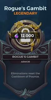 rogue's gambit legendary card