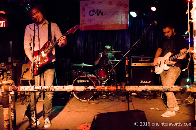 Bike Thiefs at The Bovine Sex Club in Toronto for Canadian Music Week CMW 2016, May 2 2016 Photos by John at One In Ten Words oneintenwords.com toronto indie alternative live music blog concert photography pictures