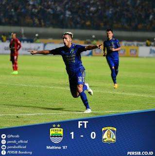 Persib Bandung Menang 1-0 atas Persiba Balikpapan plus Video Gol