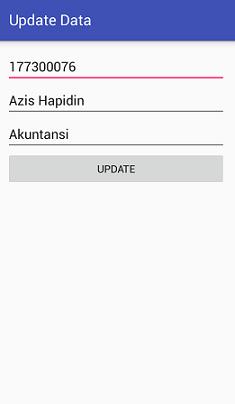Screenshot_UI untuk mengupdate data