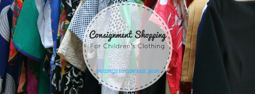 Consignment Shopping for Children's Clothing banner