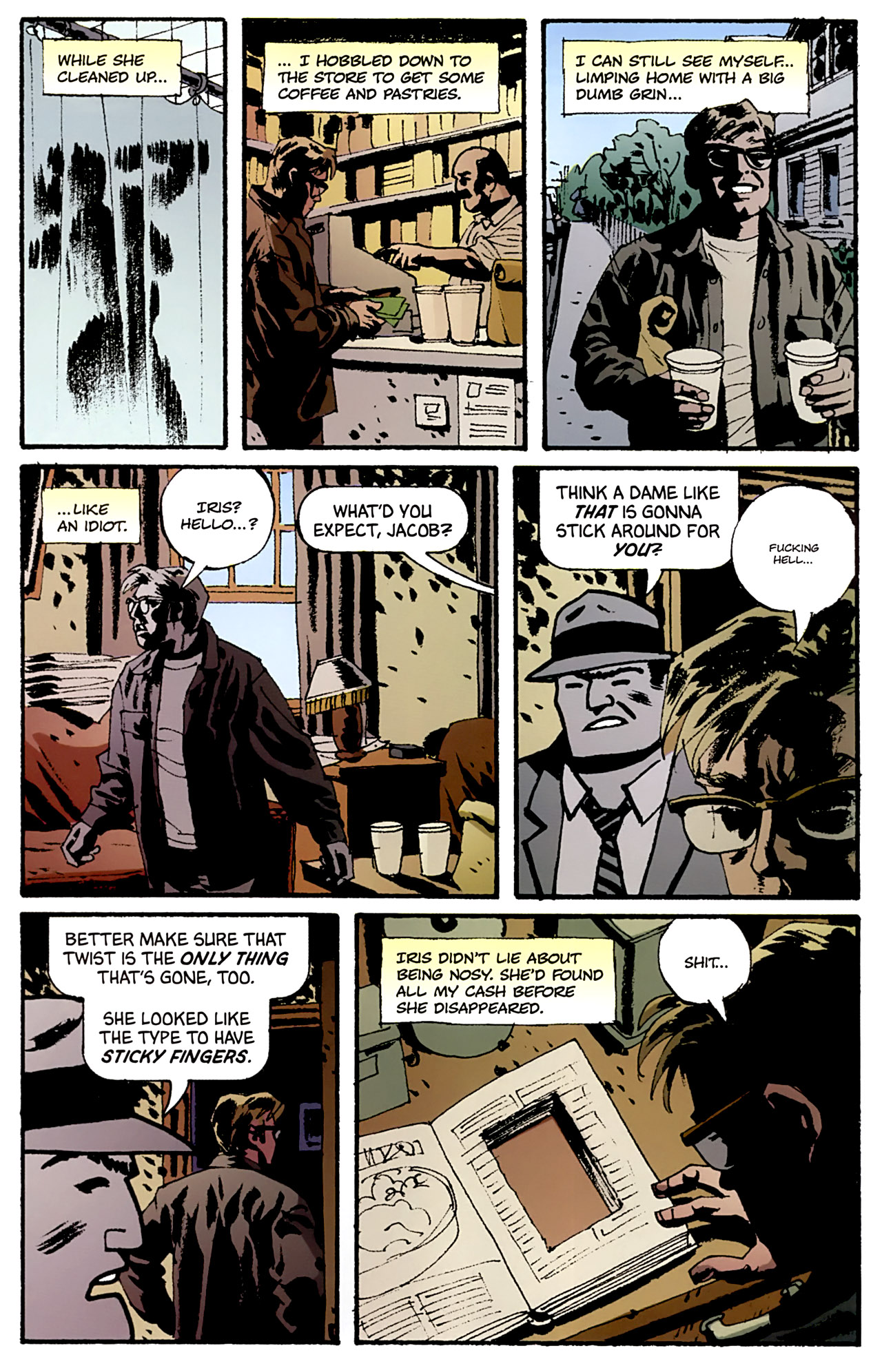 Read online Criminal (2008) comic -  Issue #4 - 23