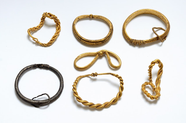 Viking gold hoard discovered in Denmark