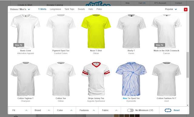 hướng dẫn thiết kế áo online