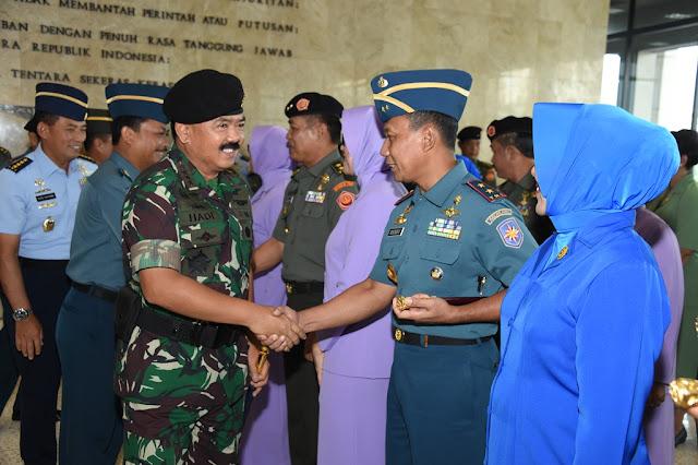 23 Perwira Tinggi TNI Naik Pangkat, Ini Daftar Lengkapnya