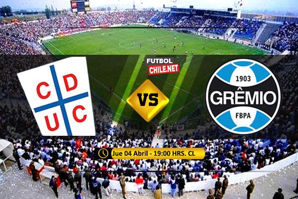Mira Universidad Católica vs Gremio en vivo y online por la Fecha 3 del Grupo H de la Copa Libertadores