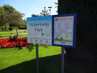 Vickersway Park in Northwich, Cheshire