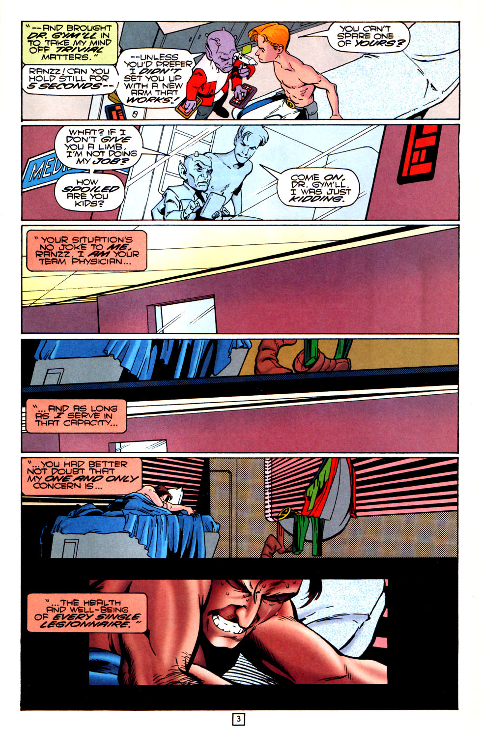 Legion of Super-Heroes (1989) 82 Page 3
