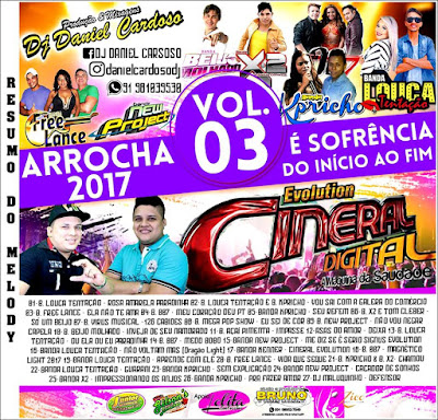 CD CINERAL ARROCHA 2017 VOL 03