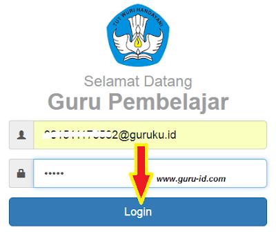 gambar cara login sim pkb cek kegiatan pretest