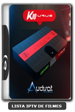 Audisat K10 urus nova atualização adicionado 61w - V2.0.44 - 14/12/2019