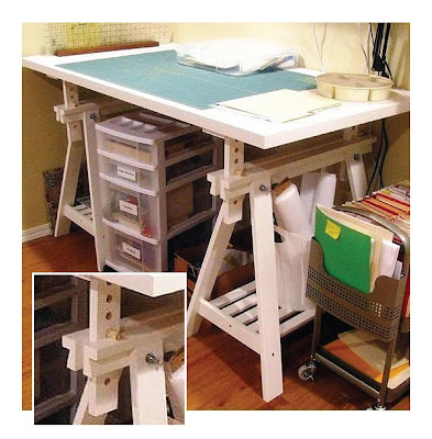Linnmon/Finvard adjustable worktable from Ikea