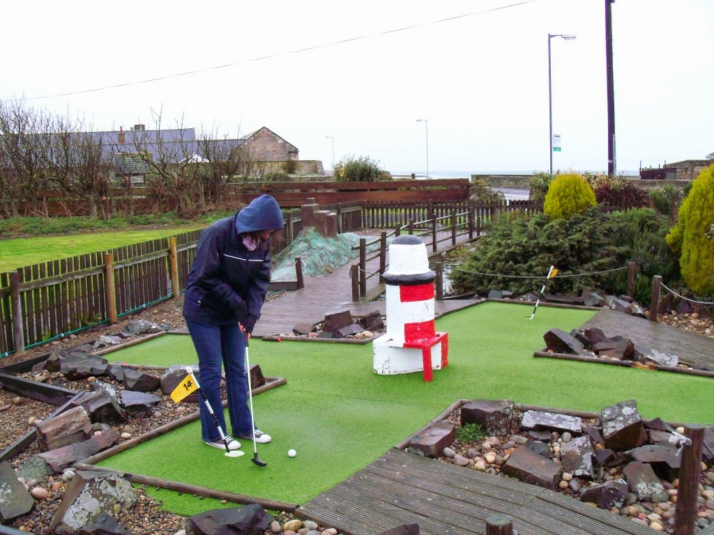 Seahouses Crazy Golf