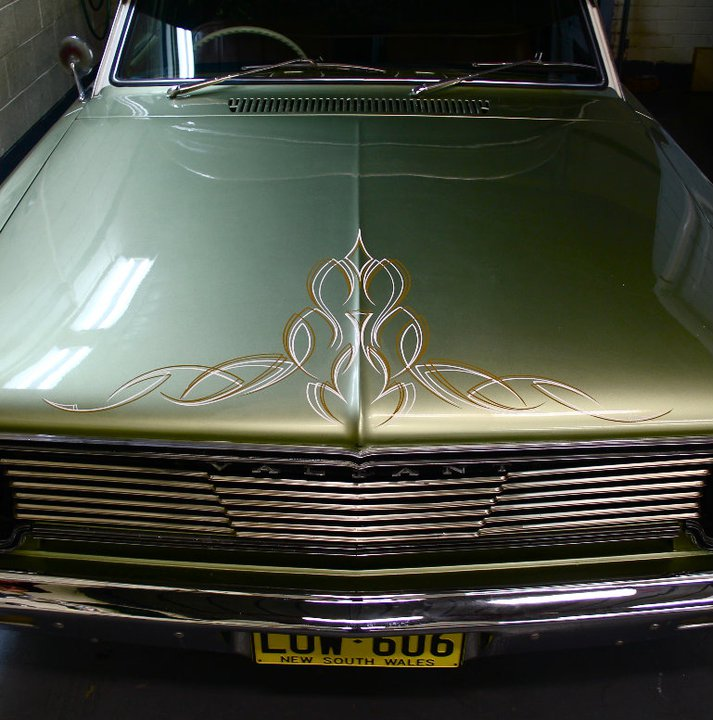 Smith Concepts Pinstriping Cars Hot Rods Sydney