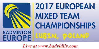 European Mixed Team Championships 2017 live streaming